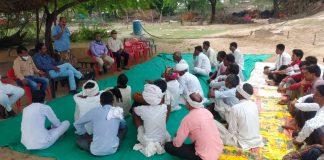 """भारतीय कृषि अनुसंधान परिषद नई दिल्ली के 93 वें स्थापना दिवस के अवसर पर फार्मर फर्स्ट परियोजना के अंतर्गत ग्राम चोसला में """"हर मेढ़ पर पेड़' कार्यक्रम का आयोजन"""