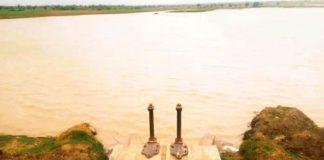 -क्षेत्र का प्रसिद्ध टोरडी सागर बांध में पानी की आवक के बाद का नजारा
