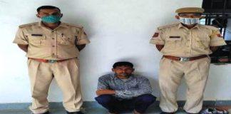 लाम्बाहरिसिंह थाना क्षेत्र में एक साल से फरार चल रहा आरोपी पुलिस गिरफ्त में